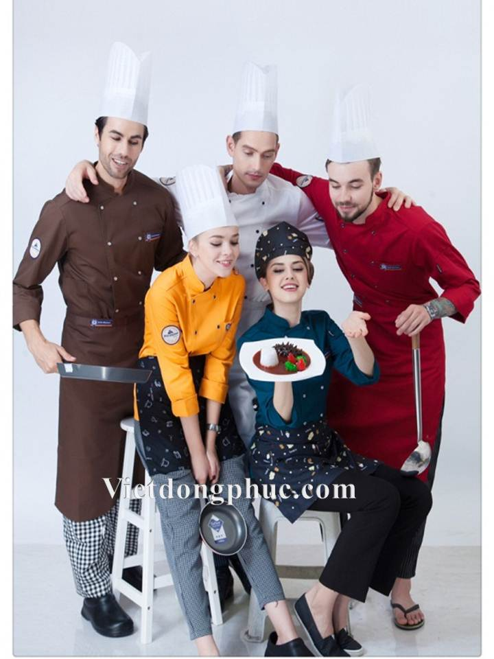 Đồng phục nhà bếp 14