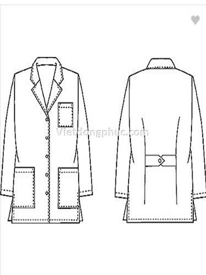 đồng phục bác sĩ 01