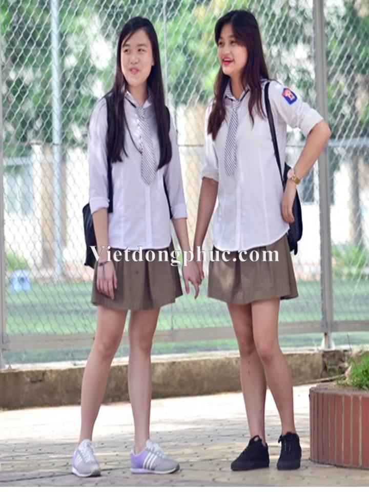 Đồng phục học sinh cấp 3 MS12