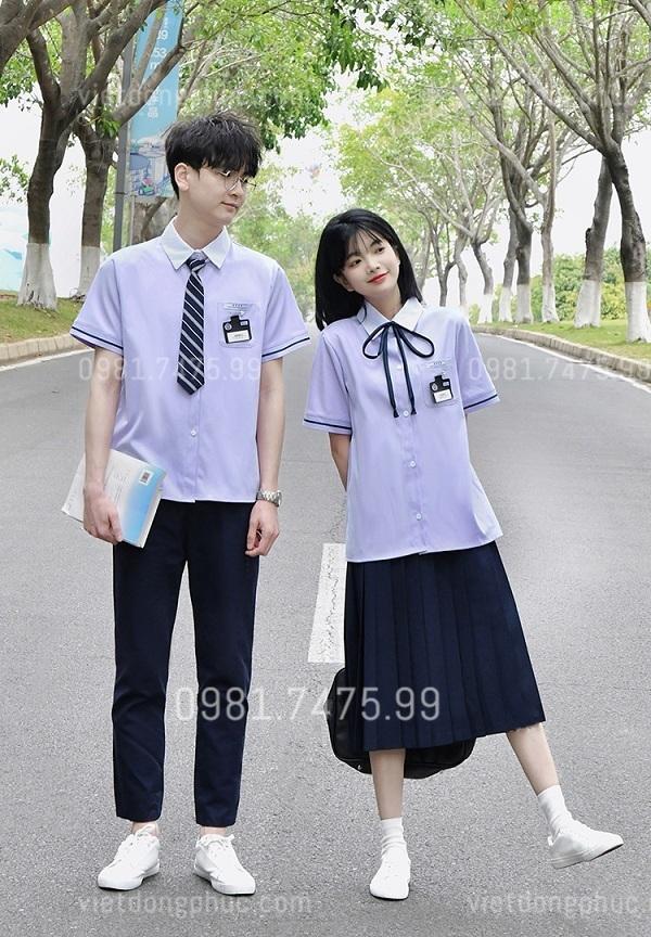 Đồng phục học sinh cấp 3 MS01