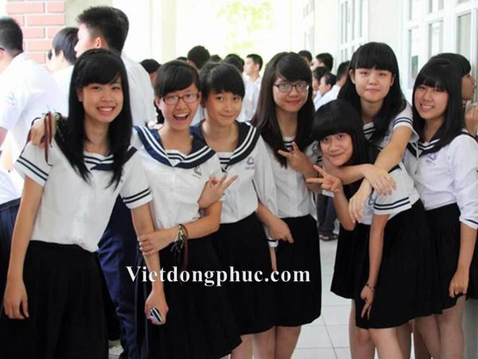 Đồng phục học sinh cấp 3 MS08