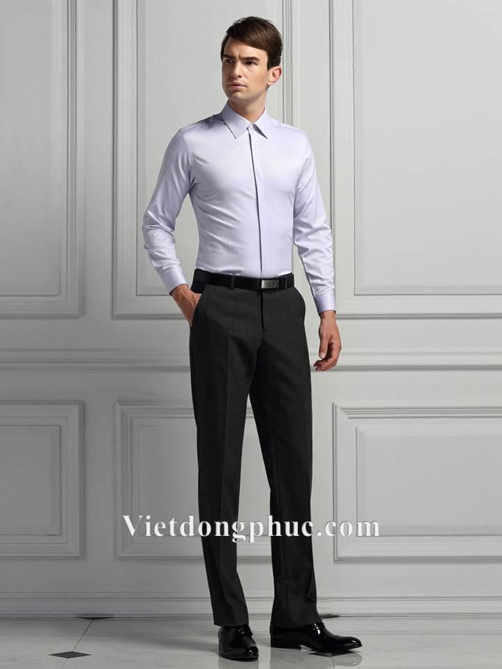Xưởng may đồng phục quần tây nam chuẩn đẹp cho nam giới