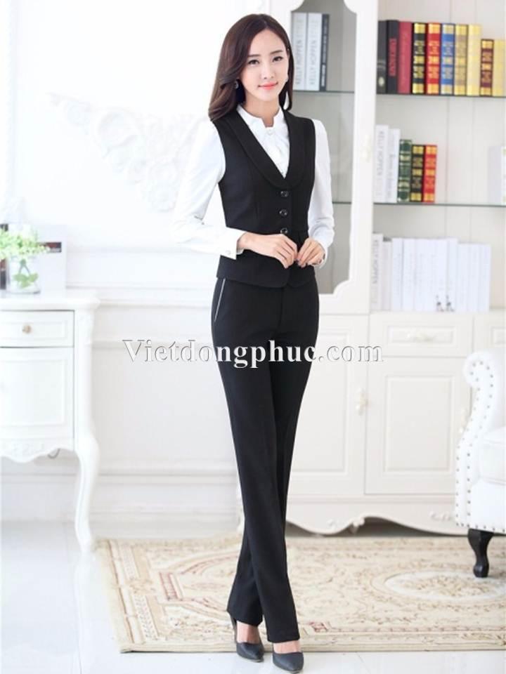 Đồng phục áo gile Nữ 04