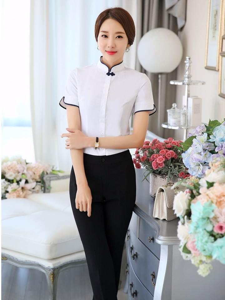 Đồng phục áo sơ mi Nữ 16