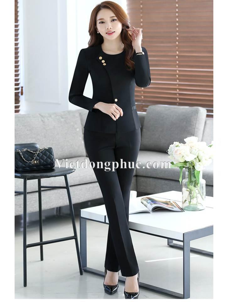 Đồng phục áo Vest Nữ 03